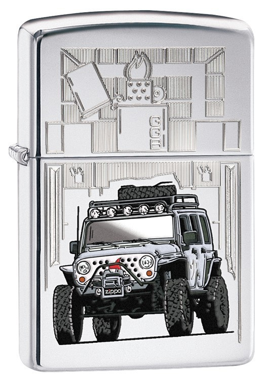Shop Catalog Products Zippo Jeep Wrangler Chrome