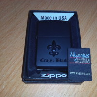 Zippo Crazy Black